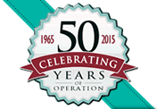Celebrating 50th year of operation