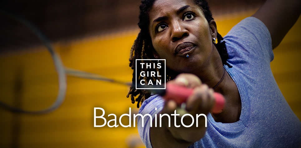 This Girl Can Badminton at East Riding Leisure