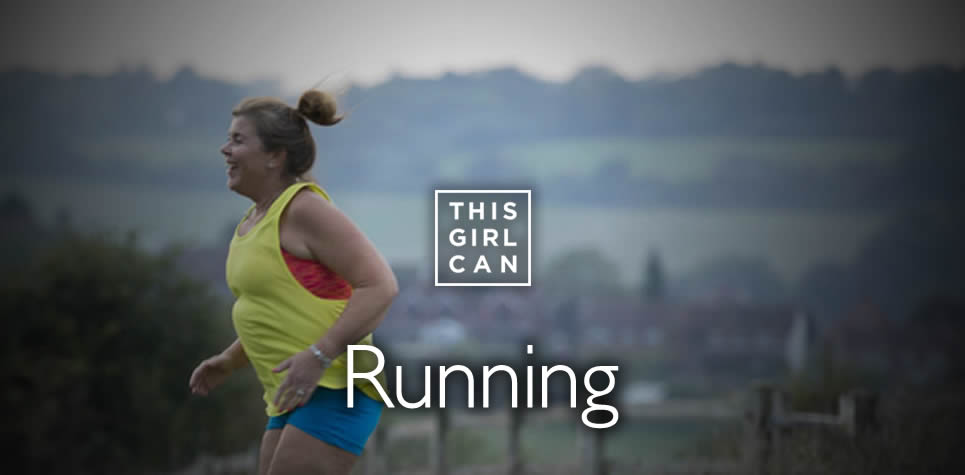 This Girl Can Running at East Riding Leisure