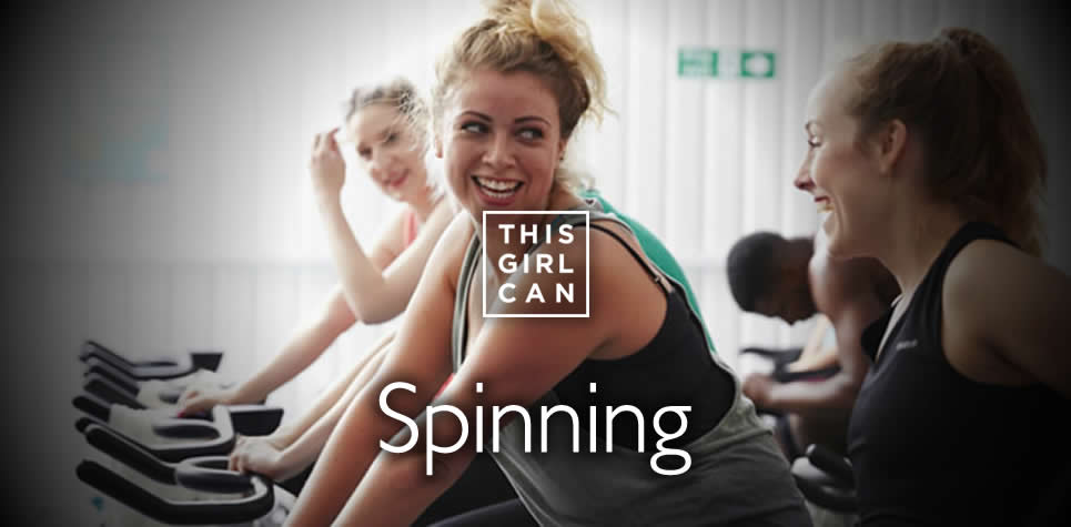 This Girl Can Spinning at East Riding Leisure