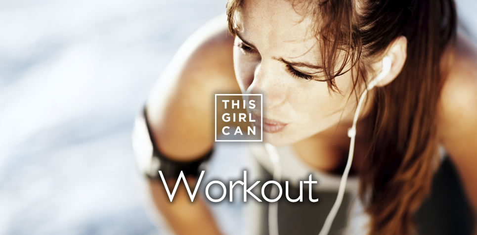 This Girl Can Workout at East Riding Leisure