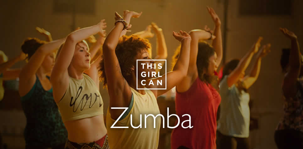 This Girl Can Zumba at East Riding Leisure